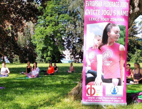 Projekt Cvičte jógu s námi v Českých Budějovicích úspešne ukončen